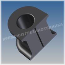 96444469 (TF69Y0-2906622) Втулка стабилизатора переднего Daewoo Lanos, ZAZ Sens