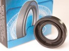 Rotary shaft seal BAB 16.5x30x7 FKM made of fluororubber for high pressure (color - brown)
